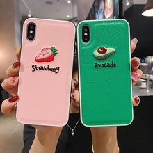 For iPhone 7 8/7plus 8plus dermatoglyph Embroidered mobile phone case for iPhoneX XS XR XSmax Mobile shell
