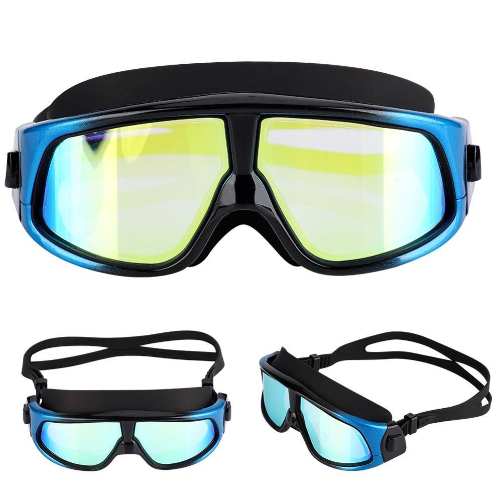 HD Non-polarized Diving Mask Silicone Underwater Scuba Swimming Glasses With Myopia Goggles Swimming Equipments
