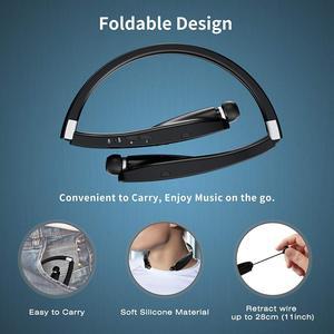Image 4 - Amorno auriculares TWS inalámbricos por Bluetooth, dispositivo manos libres con micrófono y cancelación de ruido