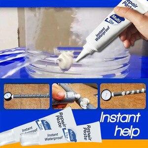 Image 5 - Melhoria da casa 100ml instantânea impermeável reparação pasta à prova dwaterproof água reparação rápida creme 17x4.3 cm branco materiais não tóxicos 2019820 #