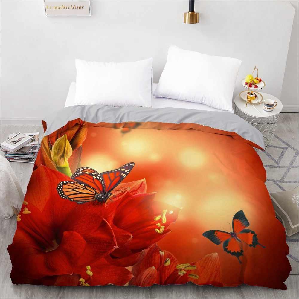 housse de couette personnalisee 3d 240x220 200x220 avec motif floral pour lit double ou queen size livraison directe