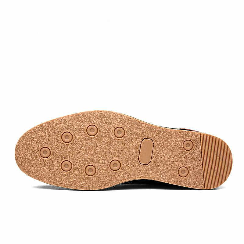AQ59 男性のデザイナーの靴オックスフォード本革ドレスシューズブローアップフラット男性カジュアルシューズ靴ローファービッグサイズ 39-45