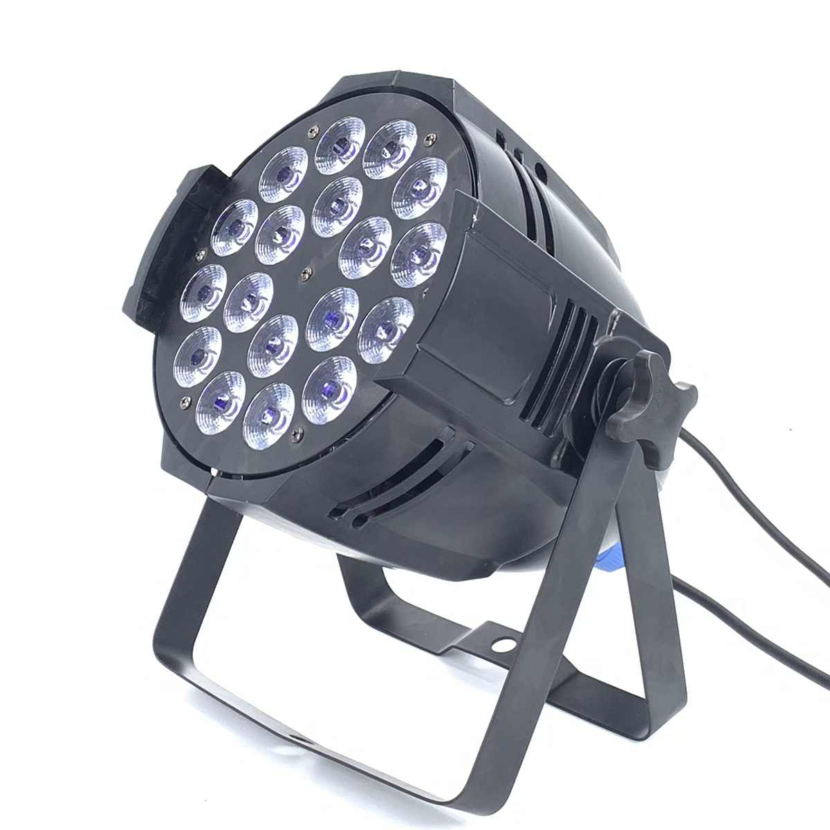 18x18w 6in1 Rgbwa+uv  Led Par Light DJ Par Cans  Aluminum Alloy  Dmx 512 Light Dmx Strobe Wash Lighting Stage Lighting Effects