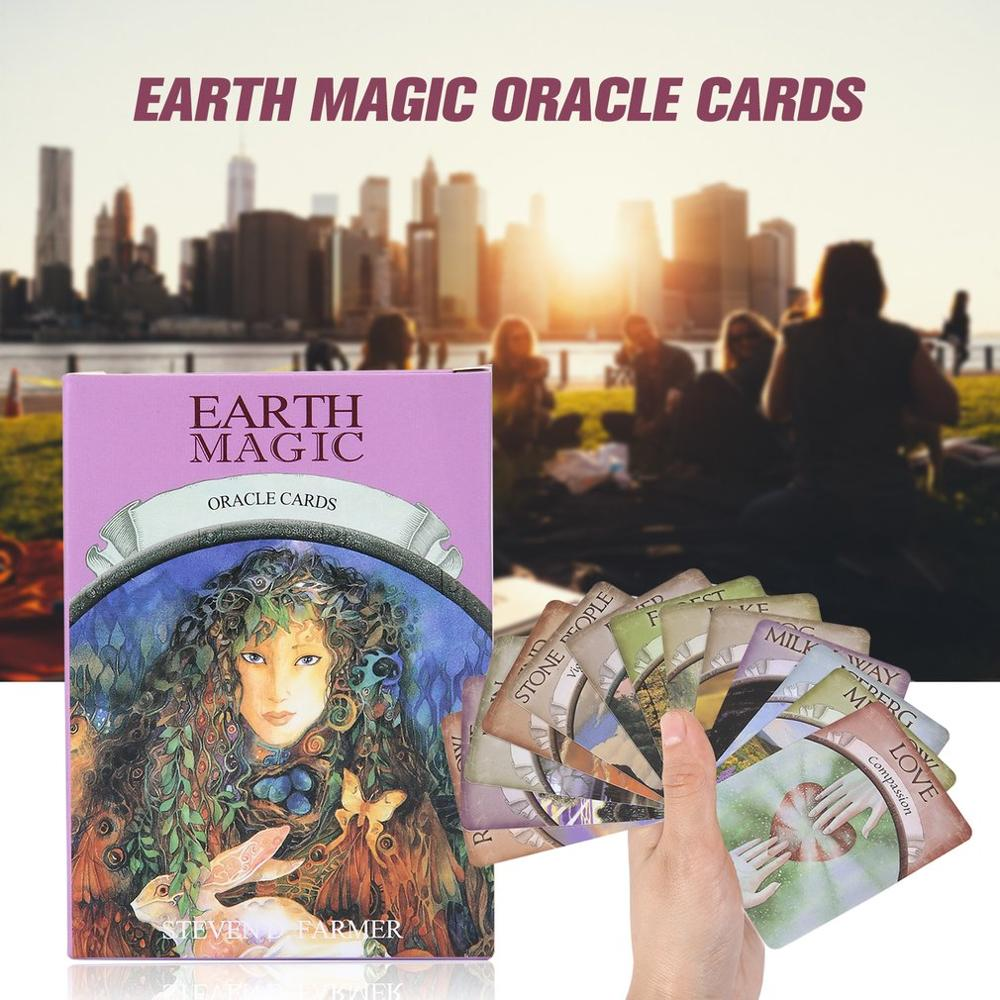 New Board Game Earth Magic God Tarot Card Oracle cards English board game Tarot cards 48 cards/set image