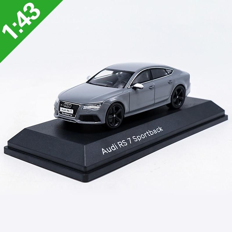 1:43 RS7 Audi RS7 Sportback Alloy Model Car Static High Simulation Metal Model Vehicles With Original Box