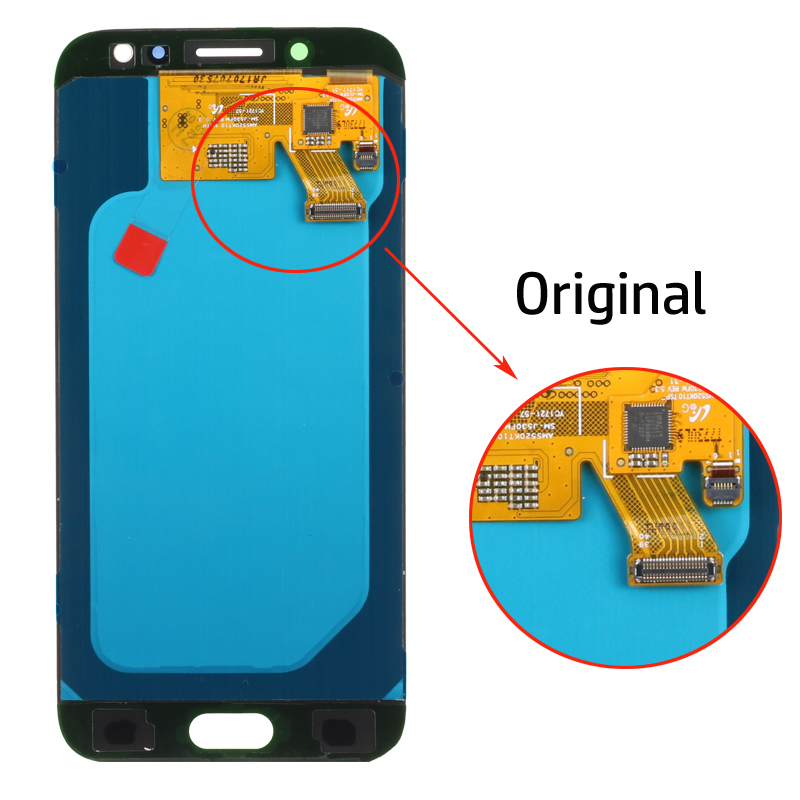 H6742f2b15dac4baaa69d70f96a2aaec7F SUPER AMOLED 5.2'' LCD Replacement Display for SAMSUNG Galaxy J5 PRO 2017 J530 J530F LCD Touch Screen Digitizer Assembly