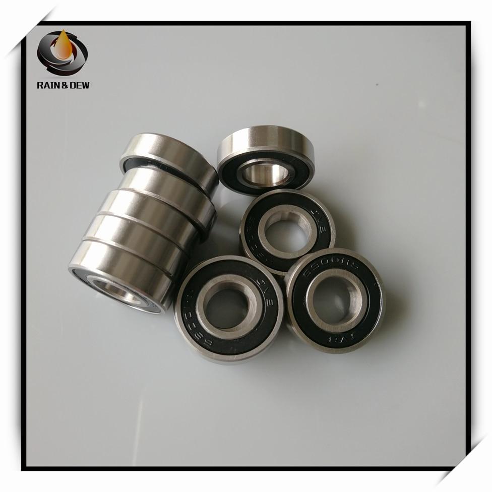 10x22x6 mm Stainless Steel Hybrid Ceramic Ball Bearings 10*22*6 2PCS S6900-2RS
