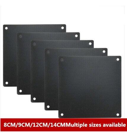 Laptop Chassis Fan PVC Dust Net Cover Accessories Desktop Host Filter 8cm/9/12/14cm