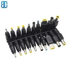 10 sztuk/zestaw 5.5x2.1mm uniwersalny męski łącze typu jack do wtyczek DC zasilanie prądem zmiennym Adapter kable komputerowe złącza Notebook Laptop