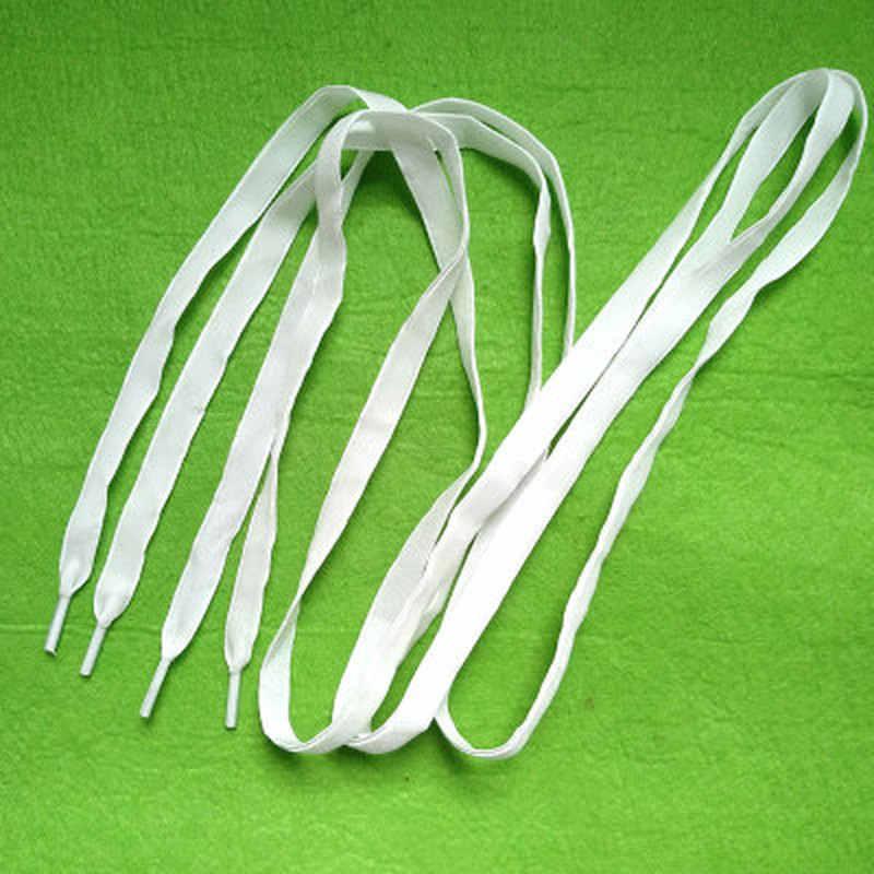 120 Cm longitud terciopelo superficie cordones mujer hombres negro blanco azul colorido cuero deportes Casual zapatos cordones