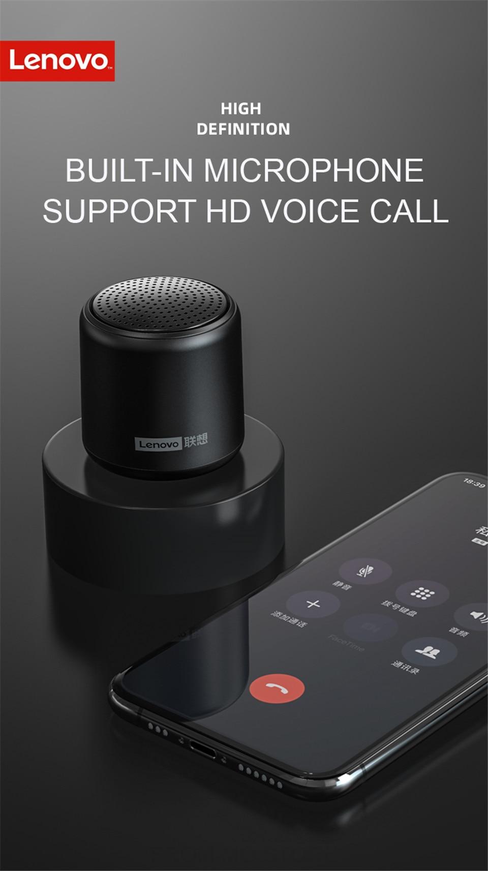 Lenovo L01 Colorful mini Speaker 8