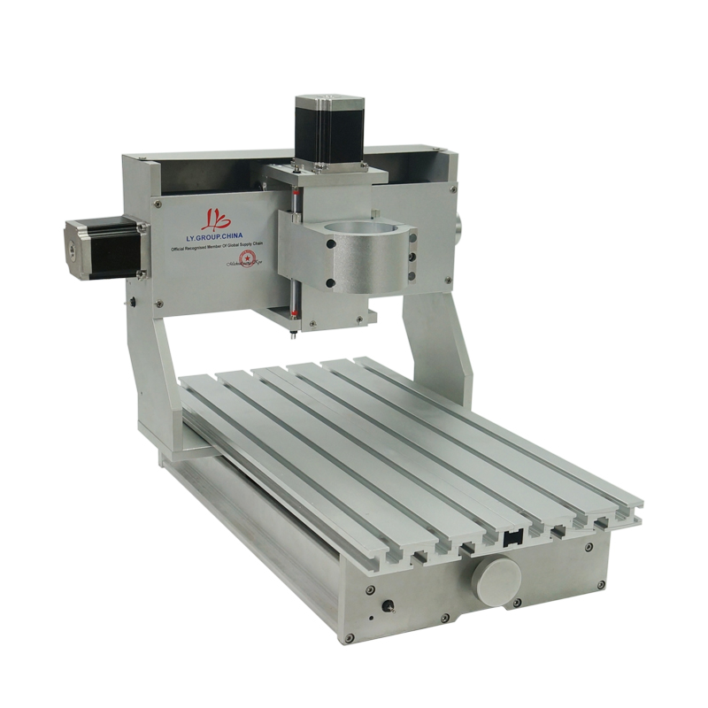 Image 5 - Mini DIY CNC machine CNC 3020 Frame Drilling And Milling Machine For Hobby Purpose 65mm spindle Without Motorwood lathediy cncrouter engraver -