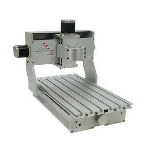 Image 5 - 미니 diy cnc 기계 cnc 3020 프레임 드릴링 및 밀링 머신 취미 목적 65mm 스핀들 모터없이