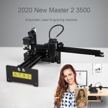 NEJE מאסטר 2 3500mW לייזר חריטת מכונת DIY שולחן עבודה דיוקן לייזר חרט מדפסת תומך APP בקרה