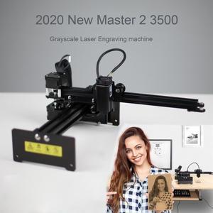 Image 1 - NEJE MASTER 2 3500mW Laser Engraving Machine DIY Desktop Portrait Laser Engraver Printer Supports APP Control