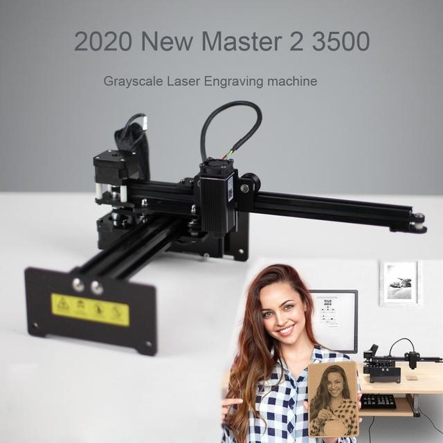 NEJE MASTER 2 3500mW Laser Engraving Machine DIY Desktop Portrait Laser Engraver Printer Supports APP Control