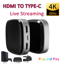 Video-Capture Live-Straming HDMI Card-Box Live-Broadcast-Support Tv-Box/camera To Type-C