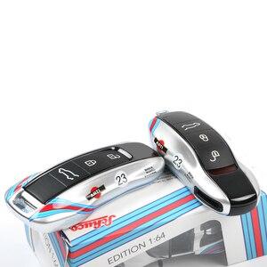 Image 5 - Neue Schlüssel Abdeckung Für Porsche Boxster Cayenne Panamera Macan Cayman 911 918 971 9YA Schlüssel Fest Fall Cap Fest Shell silber No.23 Racing