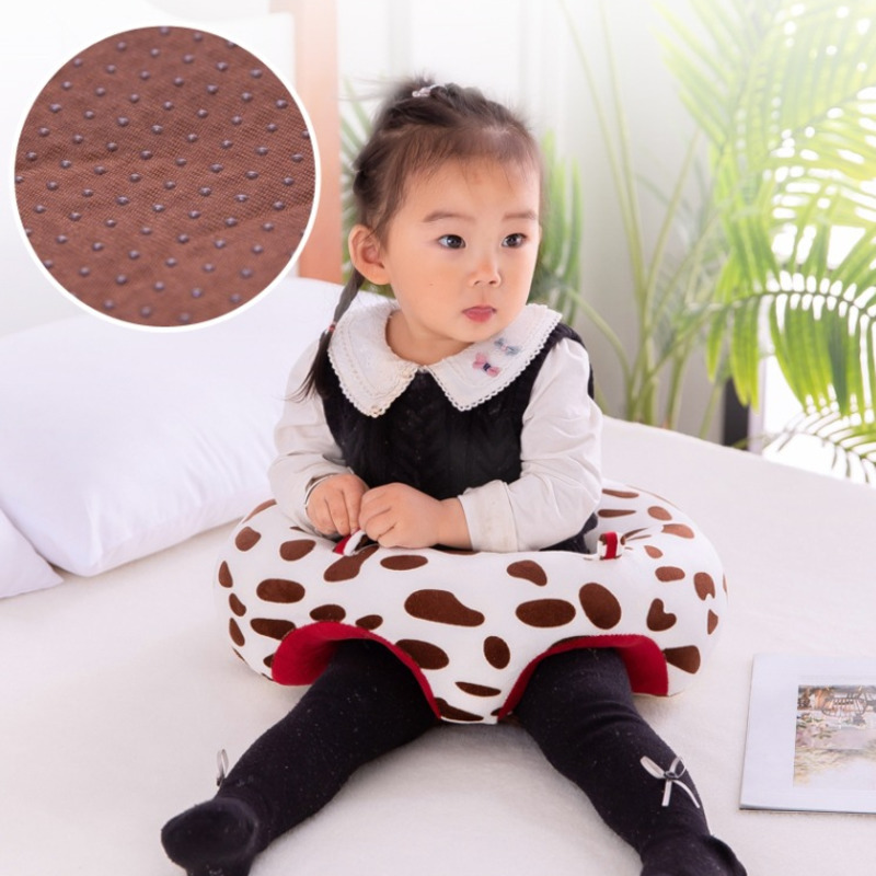 Baby Support Comfortable Seat Plush Kids Sofa Learning To Sit Soft Chair Keep Sitting Posture Skeleton Protection Children Study