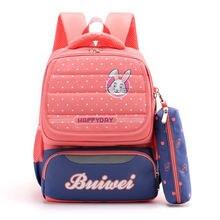 Водонепроницаемая детская школьная сумка для девочек и мальчиков;