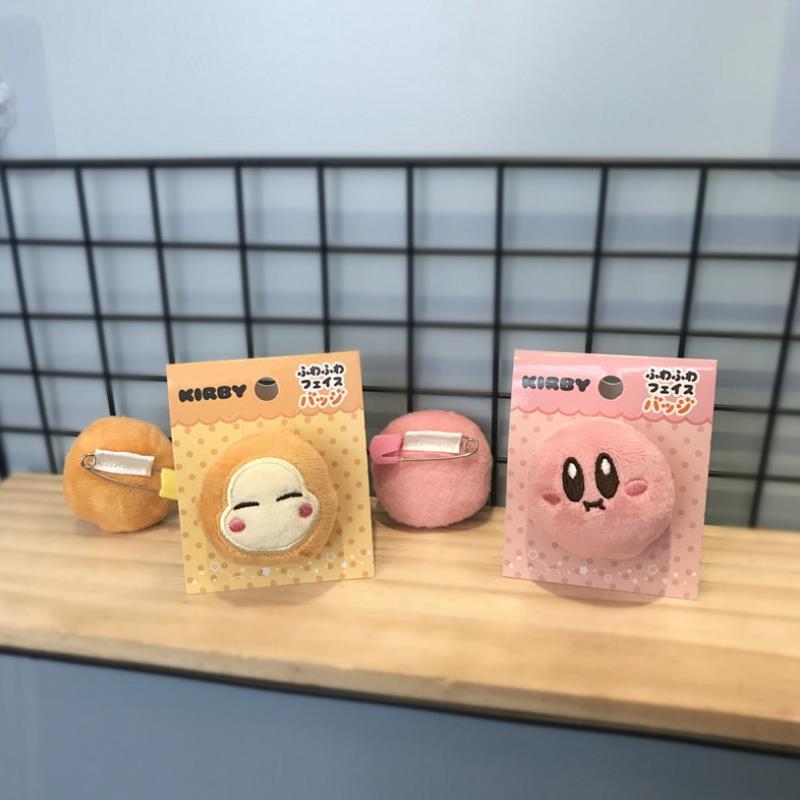 Cute Kirby Star Plush Badge 1