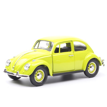 Road Signature brands classics old bug Beetle car 1967 metal auto minicar 1:24 Scale Diecast Vehicle model toys miniatures hobby image