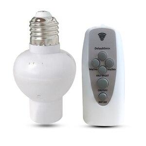 Remote control E27 LED Light b