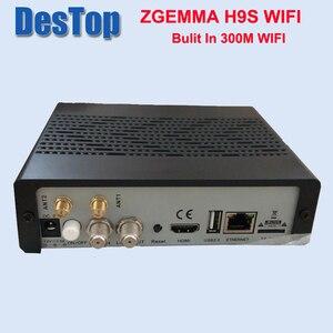 Image 3 - Zgemma 1pcs/lot ZGEMMA H9S bulit in 300M wifi DVB S2X Multistream 4K UHD Support ZGEMMA H9S Satellite Receiver FREE SHIPPING