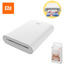 Xiaomi Mijia AR Printer 300dpi Portable Photo Mini Pocket With DIY Share 500mAh Pocket Printer Wireless Thermal Picture Printer