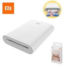 Xiaomi impresora Mijia AR de 300dpi, portátil, para fotos, Mini bolsillo, bricolaje, 500mAh, impresora de bolsillo, impresora térmica inalámbrica