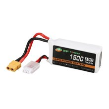 XF POWER 11.1V 1500mAh 30C 3S 3S1P Lipo Battery XT60 Plug Rechargeable For RC FPV Racing Drone Helicopter Car Boat Model wild scorpion 7 4v 1800mah 2cell 30c xt60 plug for rc model