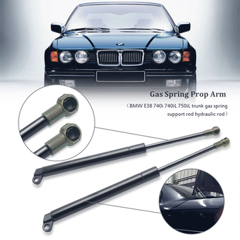 For BMW E38 740i 750iL 740iL 1994-2001 2Pcs Rod Accessories Car Trunk Tailgate Lift Support Spring Shock Absorbe Gas Strut image