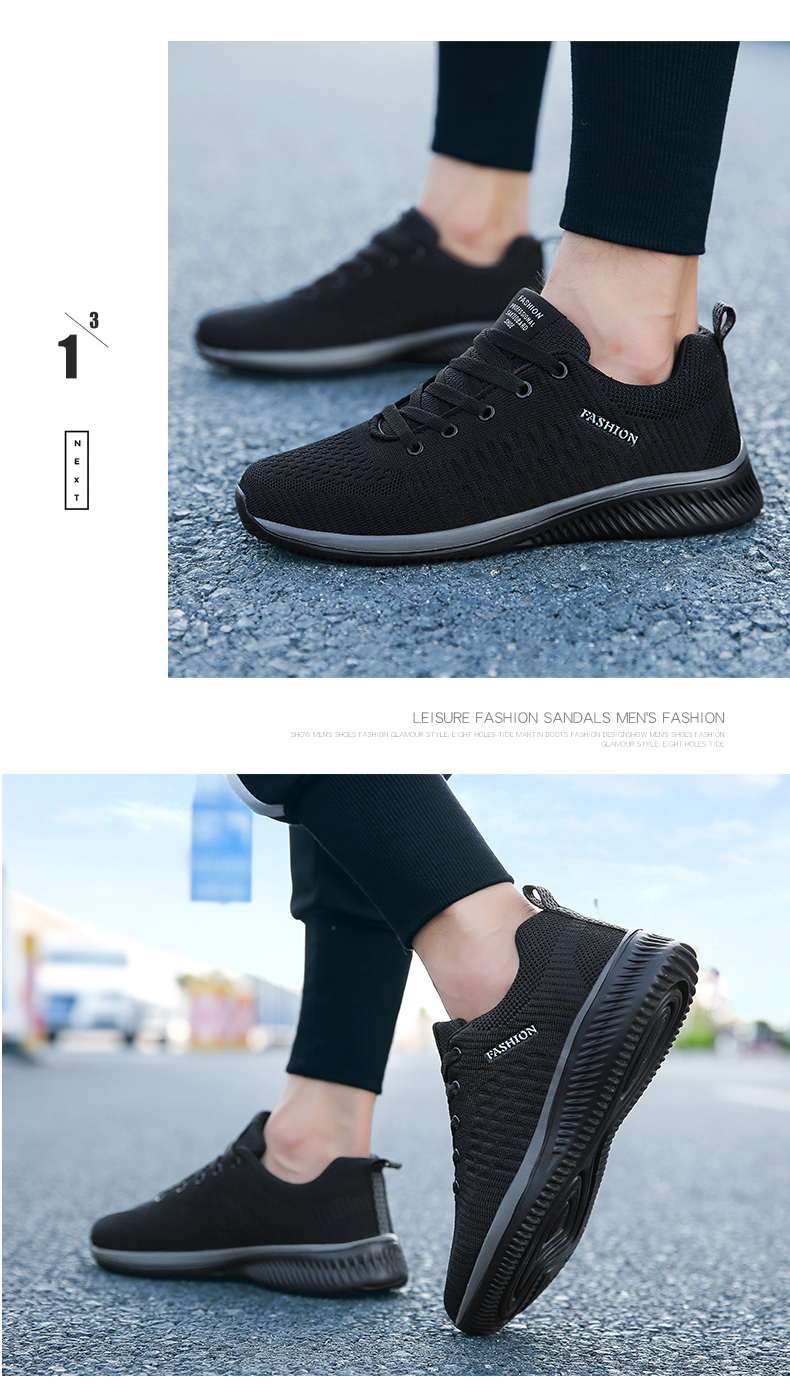 H6744965fa00c447abf7e864e421f9d85Q New Mesh Men Casual Shoes Lac-up Men Shoes Lightweight Comfortable Breathable Walking Sneakers Tenis masculino Zapatillas Hombre
