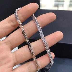 Image 5 - UMGODLY Luxus Marke Hohe Qualität Weiß Herz Weizen Ohren Halskette Micro Zirkonia Steine Frauen Mode Schmuck Neue Ankunft