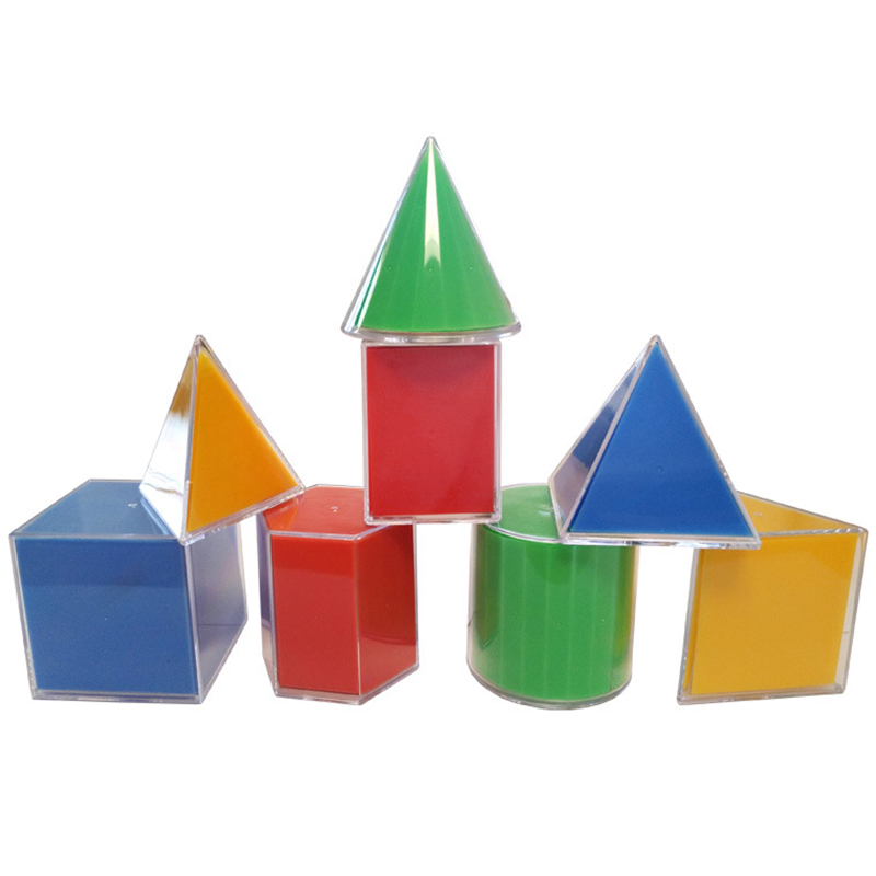 Educational Mathematics Geometric Solid Learning Auxiliary Decomposition Geometry Mathematical Tool