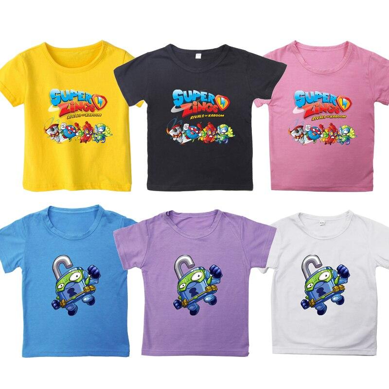 ZZYNG Short Sleeve Kids TshirtSuitable Crew Neck Family Tee Basic