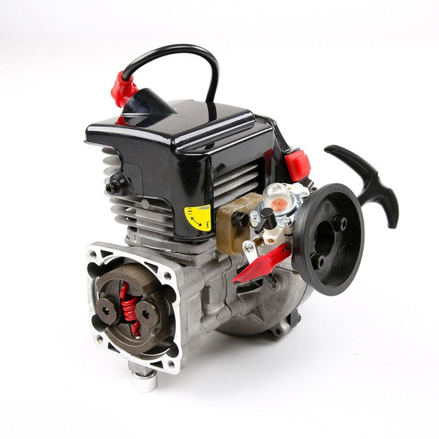 45cc Single Cylinder Two Stroke 4.35 Hp Four Point Fixed Easily Starting Engine Ffor 1/5 Rovan HPI KM BAJA RC Car