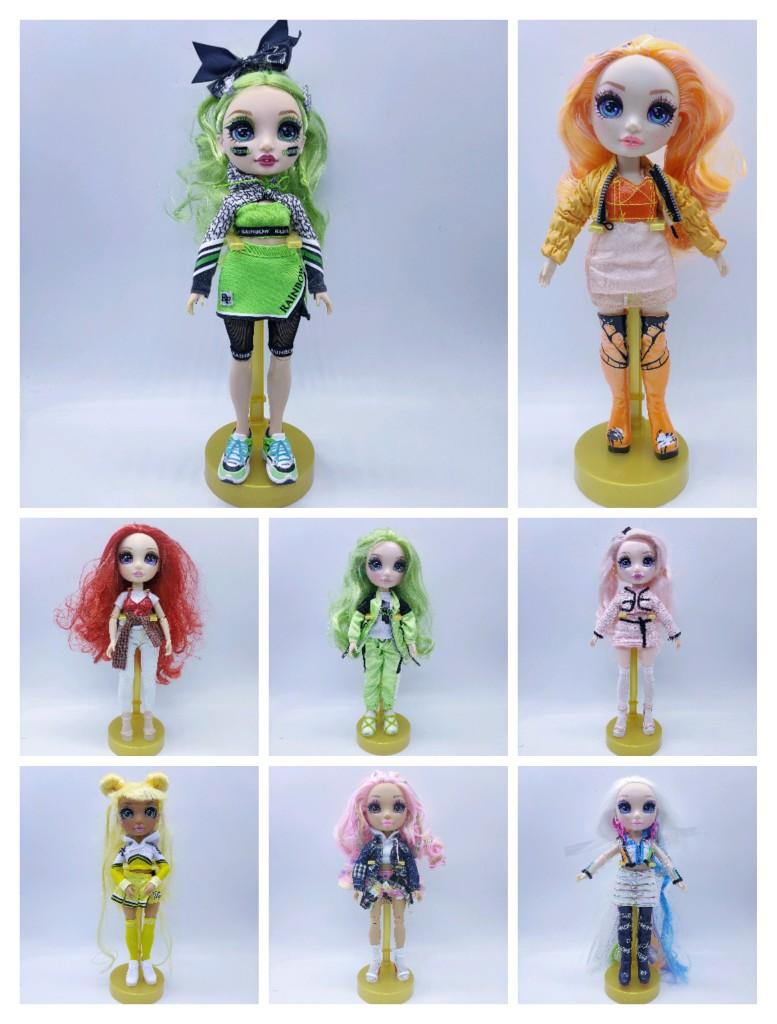 Кукла для старшей школы Slem poopsie Big Sister, модная Радужная кукла с неожиданными волосами, 11 дюймов