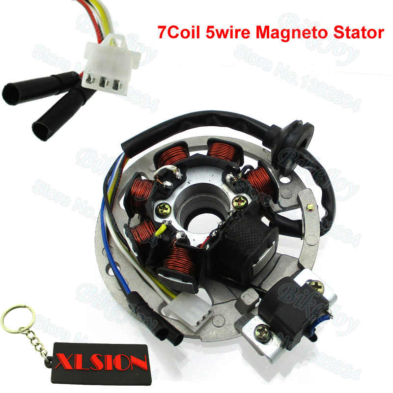 yamaha stator wiring 7 coil 5 wire magneto stator for yamaha jog minarelli 50 50cc 90  magneto stator for yamaha jog minarelli