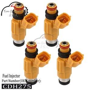4 unids/lote combustible marino juego de inyectores MD319792 CDH275 63P137610000 63P-13761-00-00 para Yamaha F150 fueraborda de cuatro tiempos