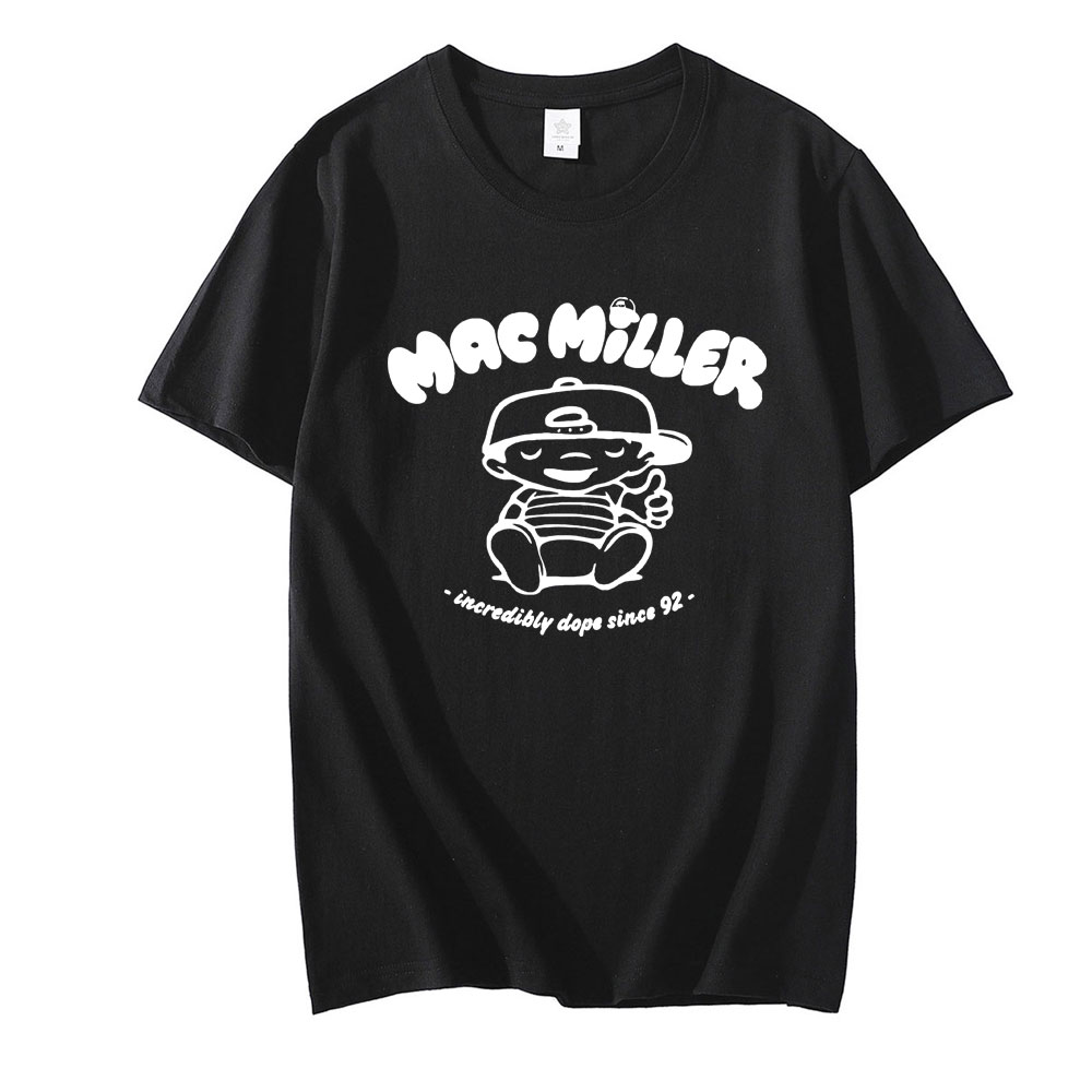 Mac Miller Oversized Fashion Short Sleeve T Shirt 1