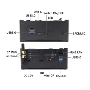 Image 4 - Topton Gaming Ordinateur Intel i7 8750H8850H/ i5 8300H/E3 1505M 6 Core 12 Threads 12M Cache Nvme M.2 Nuc Mini PC Win10 Pro WiFi AC