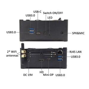 Image 4 - Игровой Компьютер Topton, Intel i7 8750H8850H/ i5 8300H/E3 1505M, 6 ядер, 12 потоков, кэш 12 МБ, Nvme M.2 Nuc, мини ПК, Win10 Pro, AC, Wi Fi