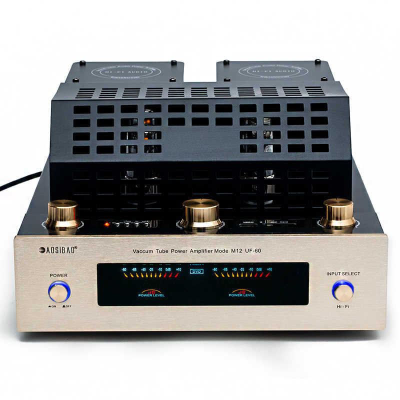M12 Hi-fi 4.0 Bluetooth Vacuum Tube Amplifier Mendukung USB SD Power Amplifier