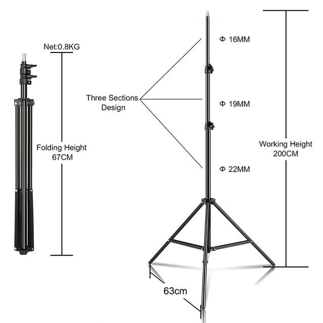 SH Selfie Tripod 1/4 Screw Head Aluminum Tripod For Phone Stand Mount Digital Camera With Bluetooth-compatible Remote Control 4