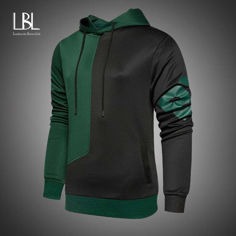 Newest 2020 Men Hoodies Autumn Fashion Hoodies Sweatshirts Streetwear Hooded Slim Sweatshirt Mens Hoodie Hip Hop New Tracksuits