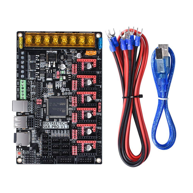 SKR Pro V1.1 32-Bit High-Frequency 3D Printer Control Board,Support TMC5160,TMC2208,TMC2130,TFT28,TFT32,TFT35,12864 Lcd Ect. image