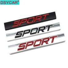 Спортивный логотип dsycar квадратная штанга цинковый сплав автомобильный