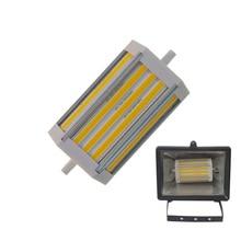 Диммируемый монолитный блок светодиодов R7S 30 Вт, Диммируемый светодиодный светильник R7S 118 мм без вентилятора, монолитный блок светодиодов ...
