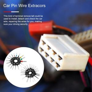 Image 3 - 78/76/41/38/11pcs Car Terminal Remove Tool Set Stainless Steel Car Extracor Pin  Puller Wire Extracors Removal Kit  Accessories